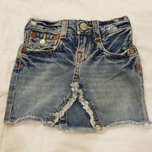 True Religion Jean Skirt